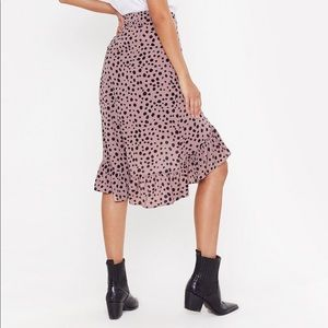Nasty Gal Skirts - Polka Dot Midi Skirt - new with tag